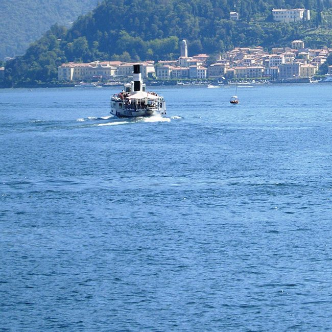 Public Boat Transport Lake Como