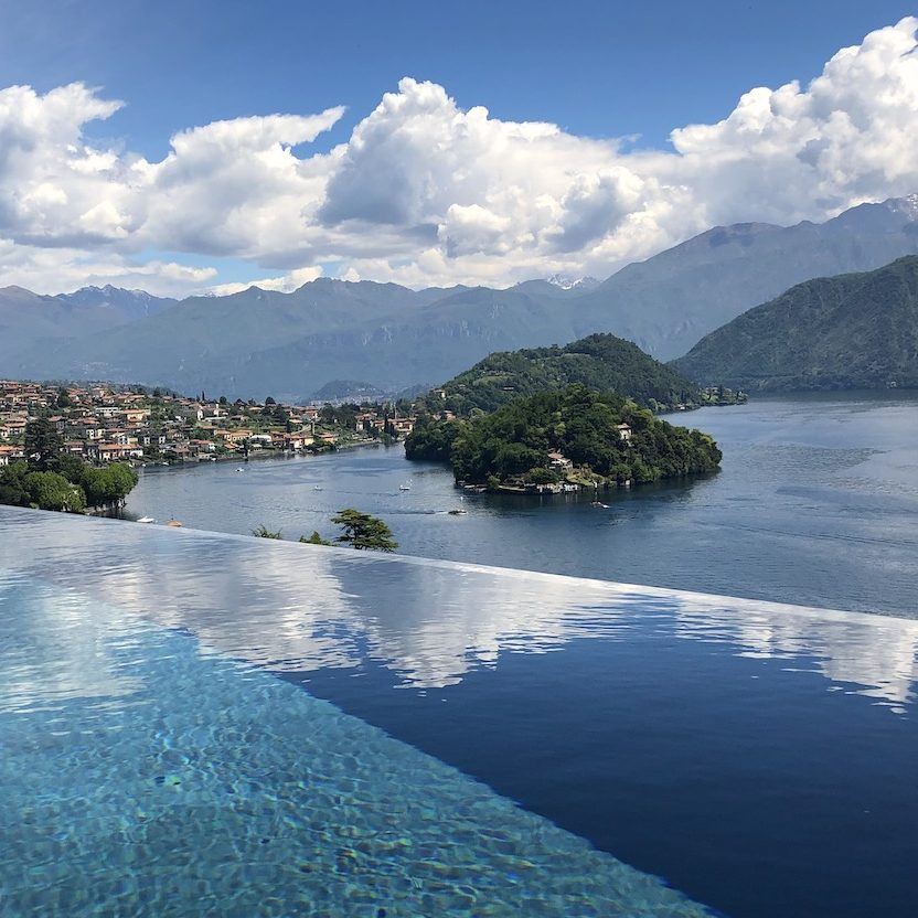 Villa Molli Infinity Pool View