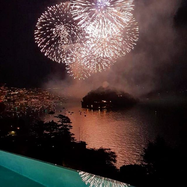 San Giovanni Fireworks by the Infinity Pool